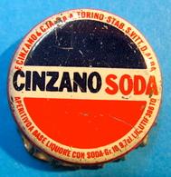 CAPSULE CINZANO SODA A TORINO STAB S.VITT D.ALBA - Soda