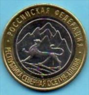 RUSSIE  10 ROUBLES 2013 Bimétal  UNC / NEUVE  OSSETIA ALANIA - Russia