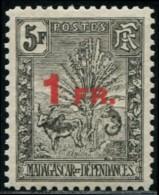Lot N°5442a Colonies Françaises Madagascar N°124 Neuf * TB - Ungebraucht