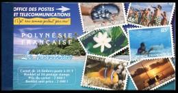 Lot N°5868a Polynésie Carnet N°C536 Neuf ** LUXE - Booklets