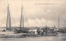 ¤¤  -  L'AIGUILLON-sur-MER   -  Le Port  -  Attelage   -  ¤¤ - France
