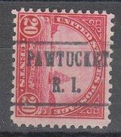 USA Precancel Vorausentwertung Preo, Locals Rhode Island, Pawtucket 698-482 - United States