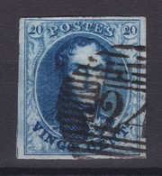 N° 7 Margé Papier Parcheminé  Retouche - 1851-1857 Médaillons (6/8)