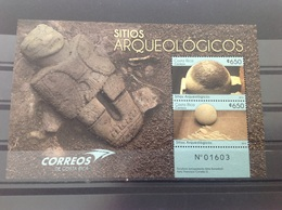 Costa Rica - Postfris / MNH - Sheet Archeologie 2016 - Costa Rica