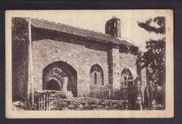 CPSM 48 - BELVEZET - Eglise De St-Trezal D'Albuges - TB PLAN EDIFICE RELIGIEUX CENTRE VILLAGE - France