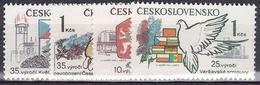 ** Tchécoslovaquie 1980 Mi 2567-70 (Yv 2394-7), (MNH) - Czechoslovakia