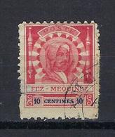 Maroc, Postes Locales Fez A Meknes, N° 17 Oblitéré - Morocco (1891-1956)