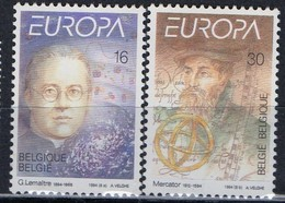 PIA  -   BELGIO  -  1994  : Europa - L' Europa E Le Scoperte -  (Yv  2551-52 ) - Belgium