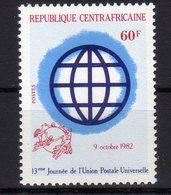 Republique Centrafricaine 1982 World Post Day UPU Journée De La Poste Mondiale MNH 1 Val. - UPU (Union Postale Universelle)
