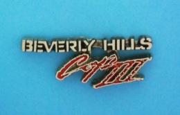 1 PIN'S //   ** FILM / LE FLIC DE BEVERLY HILLS III   BEVERLY HILLS COP III ** . '3D - Films