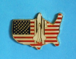 1 PIN'S //   ** USA NASA / NAVETTE SPATIALE AMÉRICAINE / SPACE SHUTTLE SYSTEM STS ** . (NASA STS Official™) - Space