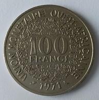 Afrique De L'Ouest - 100 Frs - 1971 - TTB - - Monnaies