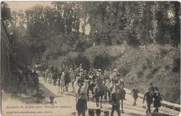 Montreuil Sur Mer : Cavalcade Du 23 Juin 1912, Groupe De Cavaliers - Montreuil