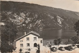 Savoie : NOVALAISE-PLAGE : Le Lac D'aiguebelette ( Cpsm.photo Vérit. ) Carte Recoupée Haut Droit - Francia