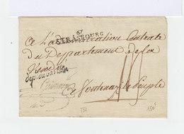 Enveloppe Avec Marque Postale Strasbourg. Département Du Bas Rhin Et Griffe. (505) - Marcophilie (Lettres)