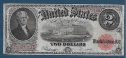 Etats Unis - 2 Dollars - 1917 - Pick N°188 - TB - Large Size - Tamaños Grandes (...-1928)