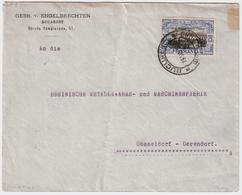 Rumänien, 1907, 25 B. , EF  , #8999a - Covers & Documents