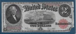 Etats Unis - 2 Dollars - 1917 - Pick N°188 - B - Large Size (...-1928)