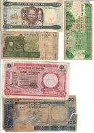 Africa Lot 8 Banknotes - Banknotes