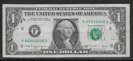 Etats Unis - 1 Dollar - 1988 - Pick N°480 - TTB - Federal Reserve Notes (1928-...)