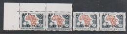 Congo 1960 CCTA Ovptd 2v (pair) ** Mnh (38946) - Republiek Congo (1960-64)