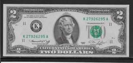 Etats Unis - 2 Dollars - 1976 - Pick N°461 - NEUF - Federal Reserve Notes (1928-...)