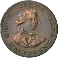 Monnaie, Grande-Bretagne, National Series, Halfpenny Token, Middlesex, TTB - Monnaies Régionales