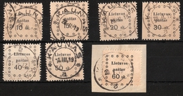 Lietuvos, 1919, No. 13 - 19 , #a406 - Lituanie