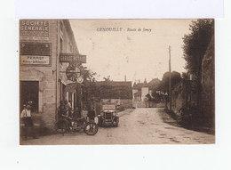 Genouilly. Route De Joncy. Garage Perrot. Automobile. Moto. Publicité Société Générale. (2904) - France