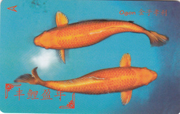 Singapore Phonecard - Fish -  Superb Unused - Singapur