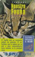 Ecuador Phonecard - Wild Cat -  Superb Unused - Ecuador
