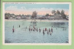 ATLANTIC HIGHLANDS : Leslie's Shore Front. Bathing Pavilion. 2 Scans. - Atlantic City