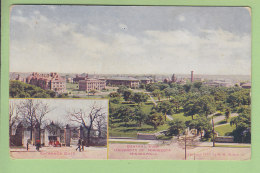 MINNEAPOLIS : General View University Of Minnesota, Entrance Gate. 2 Scans. - Minneapolis