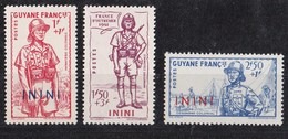 Inini N°48 à 50** - Inini (1932-1947)