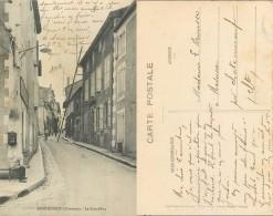 D- [501619] Carte-France  - (16) Charente, Montmoreau, La Grand Rue - Autres Communes