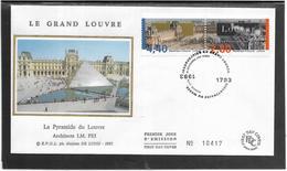 France - Enveloppe Premier Jour - Monuments - Architecture - FDC