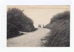 Limonest. Rhône. Le Col Du Mont Verdun. Avec Automobiles Années 1910. (2910) - Limonest