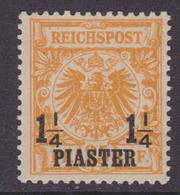 DAP Türkei MiNr. 9b * Gepr. - Deutsche Post In Der Türkei
