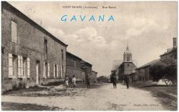 08 SAINT-MOREL - Rue Haute - Altri Comuni