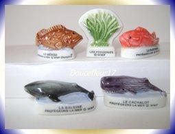 Protégeons La Mer ...  Lot De 5 Fèves ... Ref AFF: 38-2004 ...(pan 0016) - Animals