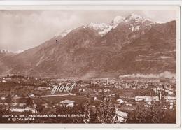 Aosta Panorama Monte Emilius E Becca Nona Stabilimento Cogne - Italia