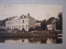 Genappe. Le Château De Mr. Brunard à Thy. - Genappe
