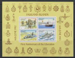 Falkland Islands 1983 1st Anniversary Of The Liberation M/s ** Mnh (38948) - Falklandeilanden