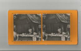 PARIS (75) 34 EXPO 1900 PHOTO STEREOSCOPIQUE BOUTIQUE TONKINOISE (COLLECTION FELIX POTIN) - Stereoscopic