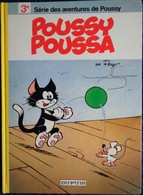 PEYO - Poussy Poussa - 3e Série Des Aventures De Poussy - Éditions Dupuis - ( 1985 ) . - Bücher, Zeitschriften, Comics