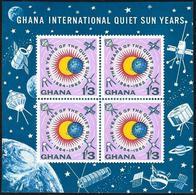 Ghana: Anno Internazionale Del Sole Calmo, International Year Of The Calm Sun, Année Internationale Du Soleil Calme - Astronomia
