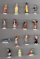 Série Quasi-complète 15/16 Féves Brillantes SANTONS PITCHOUNE Alcara 2007 - Santons