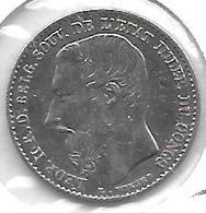 *Belgian Congo 50 Centimes 1887  Km 13 Xf - Congo (Belgian) & Ruanda-Urundi