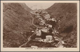 Jamestown, St Helena, Looking North, C.1930 - RP Postcard - Sainte-Hélène