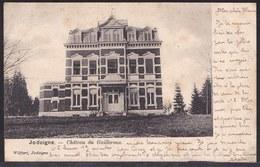 JODOIGNE 1902 - CHATEAU DE GAILLEROUX - Voir Dos Jodoigne Sur Armoiries Vers Tirlemont - Jodoigne